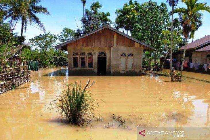 Banjir di Aceh Barat berangsur surut