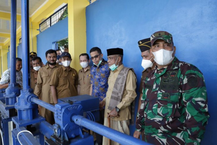 Awali musim tanam gadu 2021, ini yang dilakukan Wabup Aceh Besar