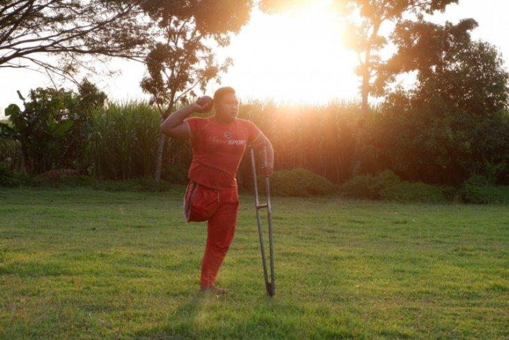 Atlet disabilitas Kota Kediri matangkan persiapan Peparprov Jatim