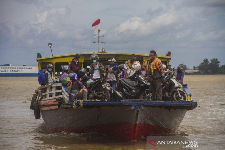 Arus Balik Jalur Sungai Di Banjarmasin Meningkat