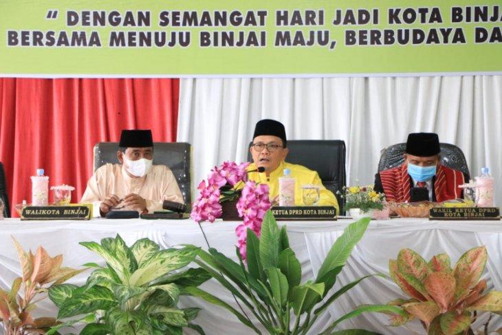 Wali Kota Binjai hadiri HUT Ke 149 di DPRD setempat