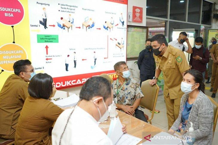 Wali Kota Medan cek pungli saat sidak ke Disdukcapil