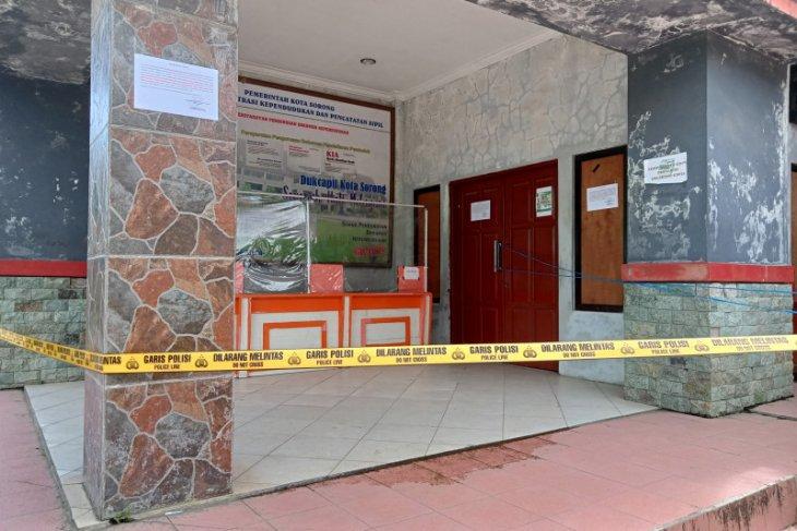 Disdukcapil Kota Sorong akui tidak ada CCTV rekam pencurian komputer