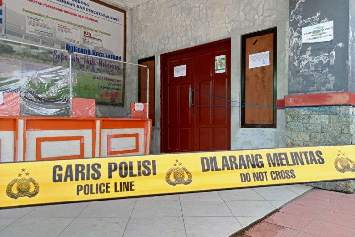 Polisi selidiki kasus pencurian lima komputer Disdukcapil Kota Sorong