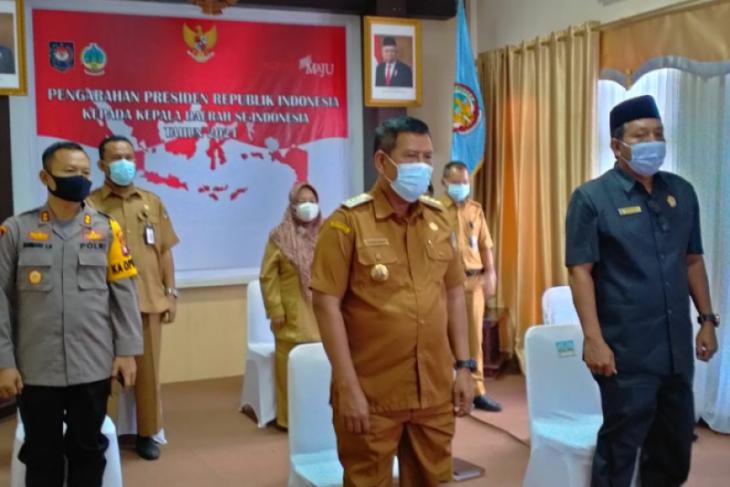 Bupati Kayong Utara ikut rakor bersama Presiden Jokowi