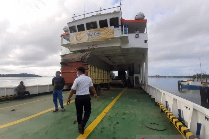 Jumlah penumpang Kapal Fery Batulicin-Kotabaru meningkat 100 persen
