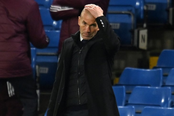 Zidane mundur dari Real Madrid