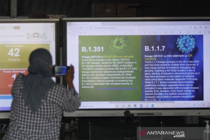 Dua pasien positif COVID-19 varian baru ditangani khusus di RSLI Surabaya