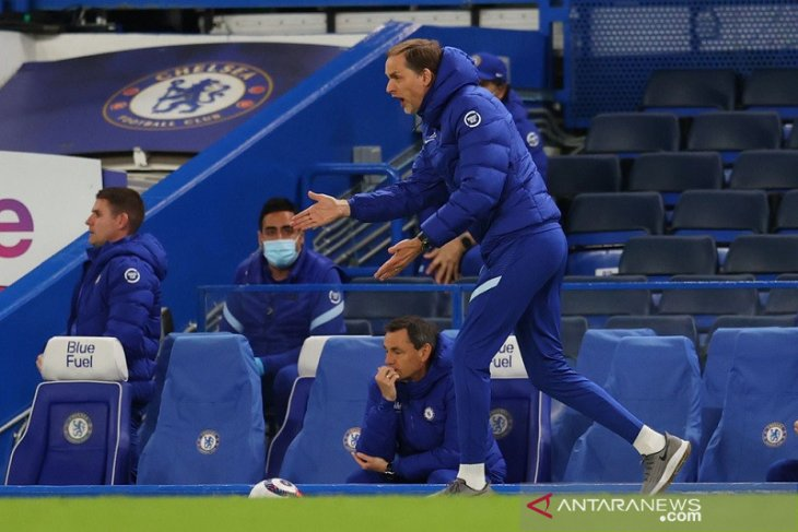 Thomas Tuchel berharap kembalinya suporter bantu Chelsea finis di empat besar