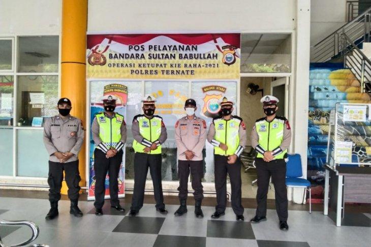 Polda Malut perpanjang pengamanan operasi ketupat