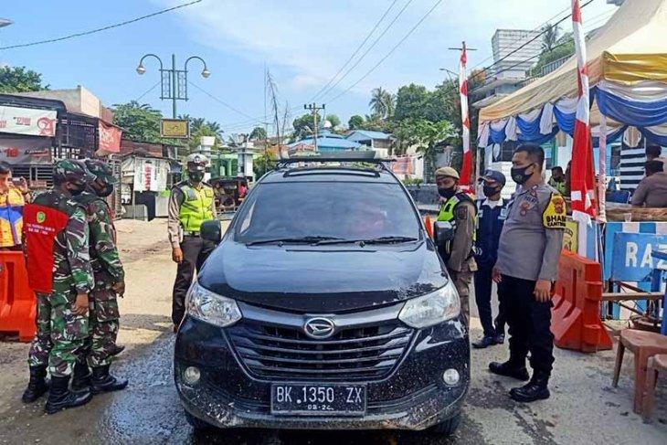 Polda: 858 kendaraan ditolak masuk Aceh selama larangan mudik