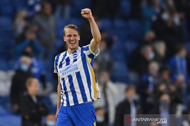 Rekor kemenangan City berakhir di markas Brighton