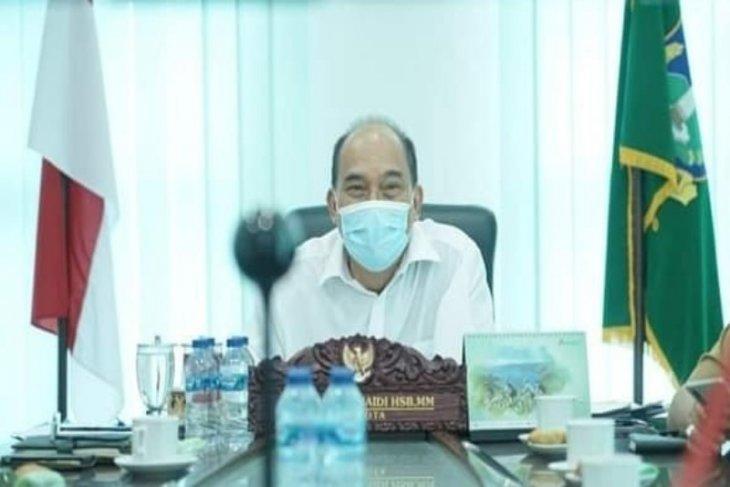 Wali Kota Tebing Tinggi pimpin rapat evaluasi COVID-19