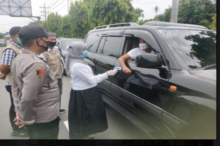 Hari kedua KRYD di Tebing Tinggi, enam mobil diputar balik