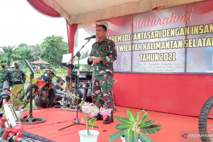 Komandan Korem Antasari tegaskan netralitas TNI saat PSU Pilgub Kalsel
