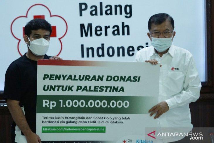 PMI salurkan donasi publik Rp1 miliar untuk rakyat Palestina