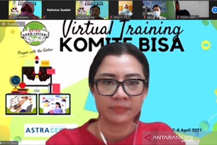 Peduli pendidikan, PT Subur Agro Makmur laksanakan virtual training komite bisa