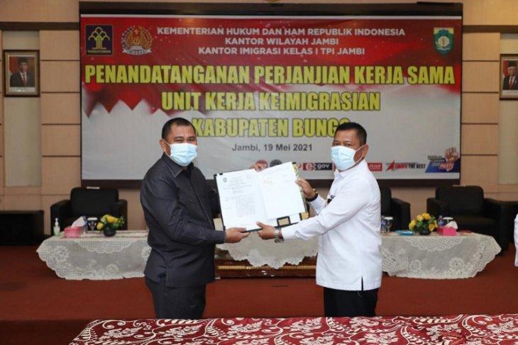 Kabupaten Bungo siap fasilitasi tanah dan gedung untuk Kantor Imigrasi