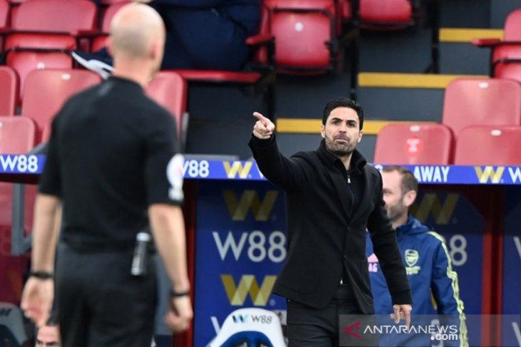 Arteta tegaskan Arsenal berjuang hingga penghabisan  demi tiket Eropa