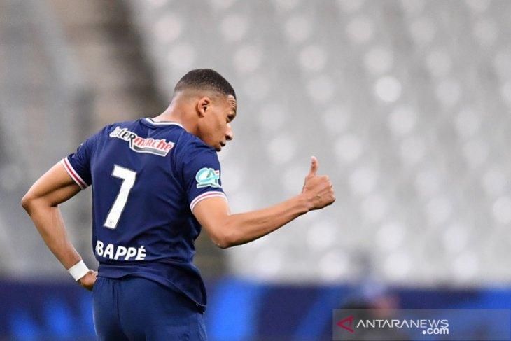 Mbappe pimpin PSG pertahankan trofi Piala Prancis