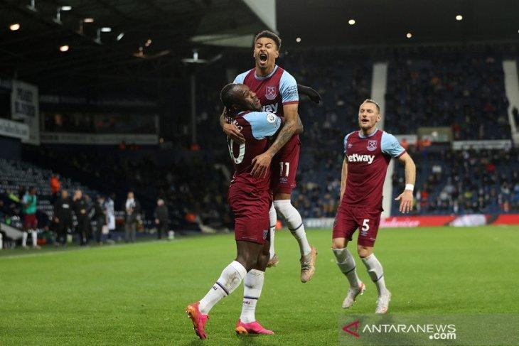 Bangkit tundukkan West Brom,  West Ham masuki zona Liga Europa