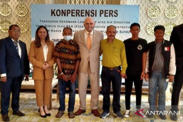 Keluarga penumpang Sriwijaya Air SJ-182 gugat Boeing ke pengadilan