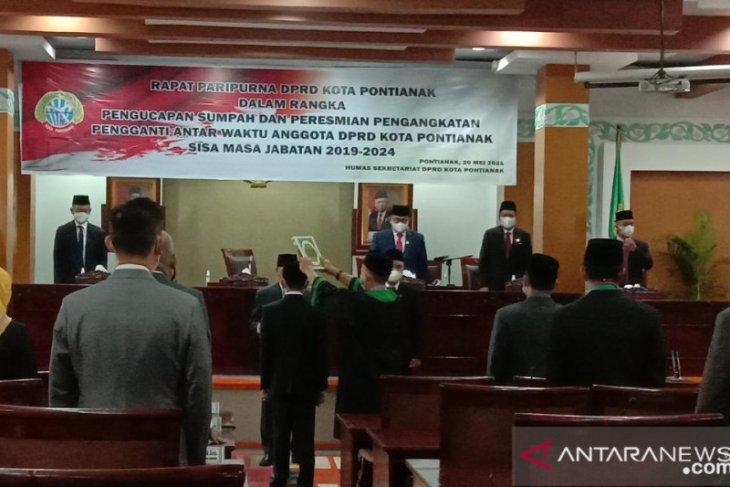 Anggota PAW DPRD Kota Pontianak optimalkan kinerja legislatif