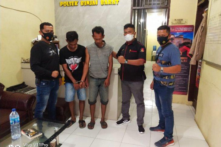 Polsek Binjai Barat tangkap dua pelaku pencurian