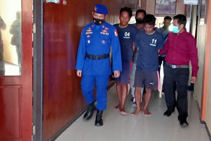 Kapal Patroli Polri gagalkan pengeboman ikan di perairan Sorong, Papua Barat