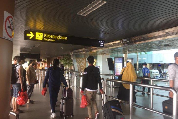 Aktivitas di Bandara Supadio Pontianak mulai normal