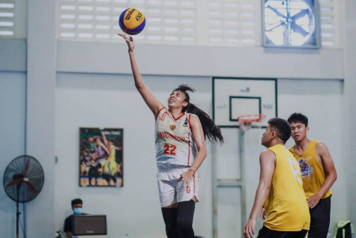 Timnas basket putri 3x3 siap bersaing pada kualifikasi Olimpiade Tokyo