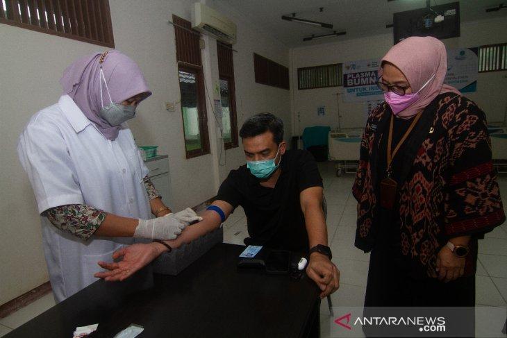 Ketua DPD Partai Golkar Provinsi Kalbar Persiapan Donor Plasma
