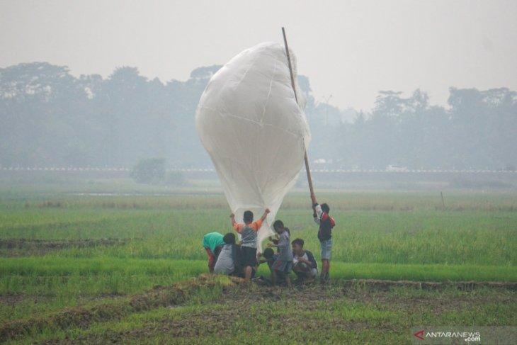Kemenhub  tegaskan pelaku penerbangan balon udara liar bisa dipidana