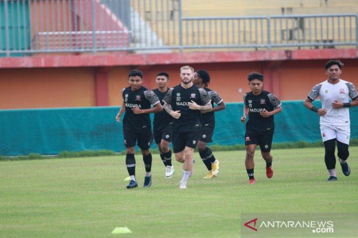Madura United izinkan hanya wartawan telah divaksin meliput latihan