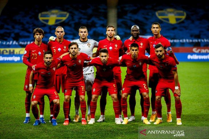 Cristiano Ronaldo pimpin skuad penuh bintang Portugal di Euro 2020