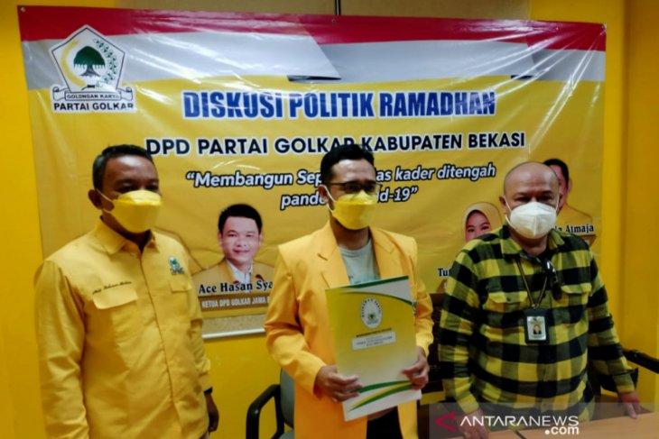 Mahkamah Partai Golkar tolak gugatan SK Kepengurusan DPD Golkar Bekasi