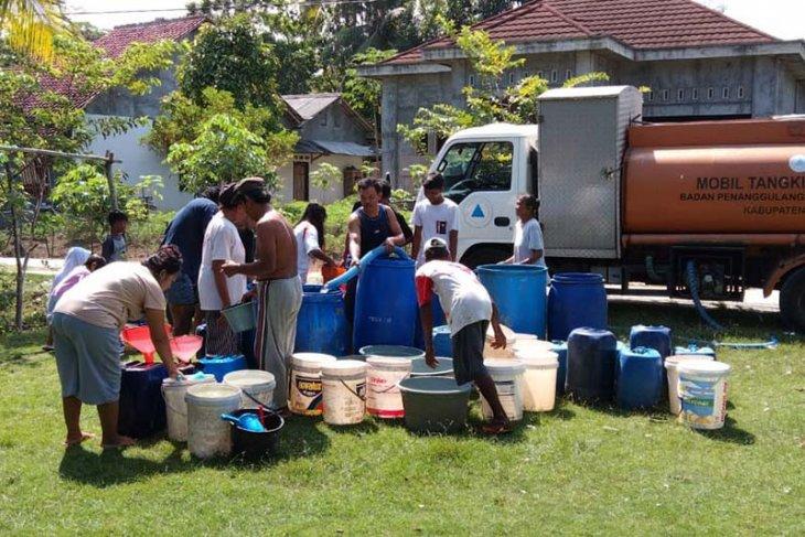 BPBD sampaikan enam desa di Cilacap mulai terdampak kekeringan