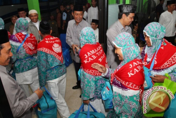 Ratusan Calhaj Tabalong mengikuti vaksinasi COVID-19