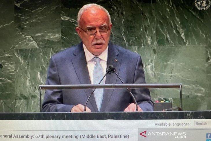 Palestina minta dunia hentikan kejahatan yang dilakukan Israel