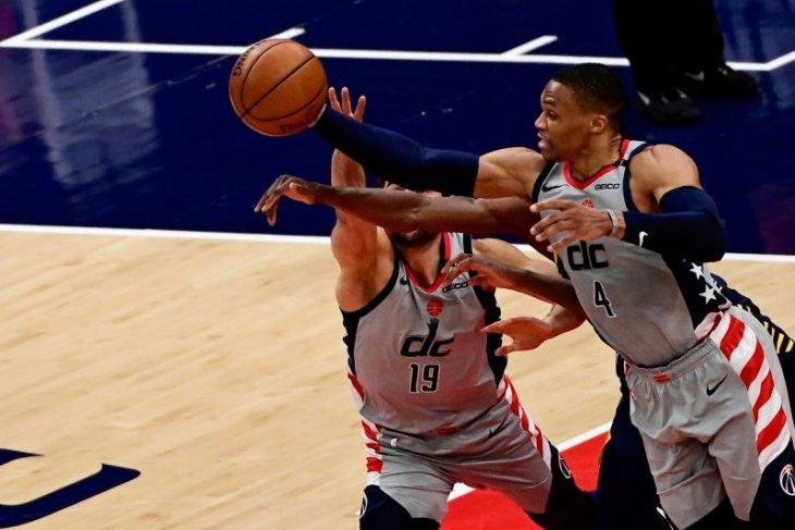 Washington  Wizards lolos ke babak playoff setelah tundukkan Pacers 142-115
