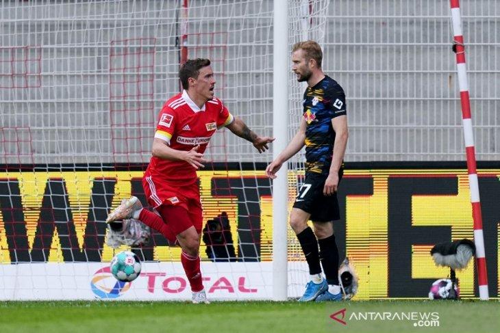 Liga Jerman: Union rebut tiket Eropa terakhir seusai menang dramatis atas Leipzig