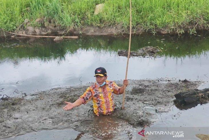 Gubernur Kaltara turuni rawa gambut di lokasi KBM Tanjung Selor, berikut  alasannya