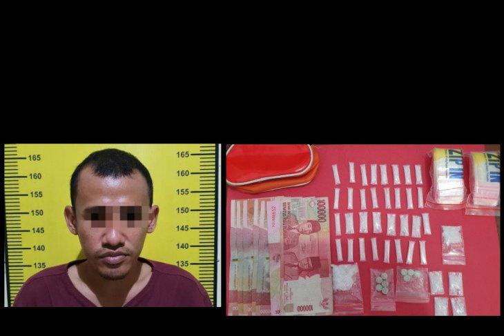 Satresnarkoba Polres Tabalong amankan 15,34 gram sabu