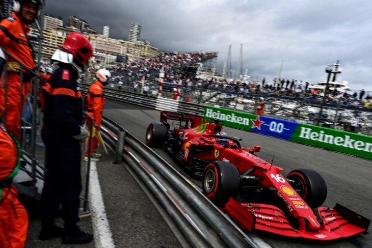 Formula 1: Jagoan tuan rumah Charles Leclerc rebut pole position GP Monako