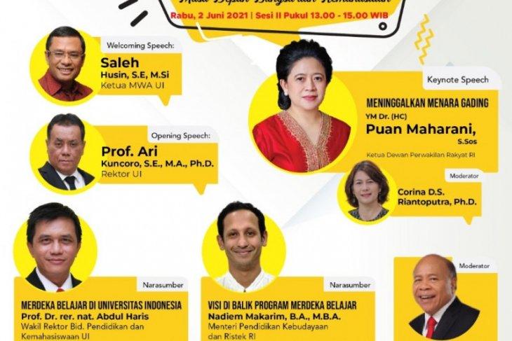 MWA UI gelar Webinar hadirkan Puan Maharani bahas pendidikan Indonesia