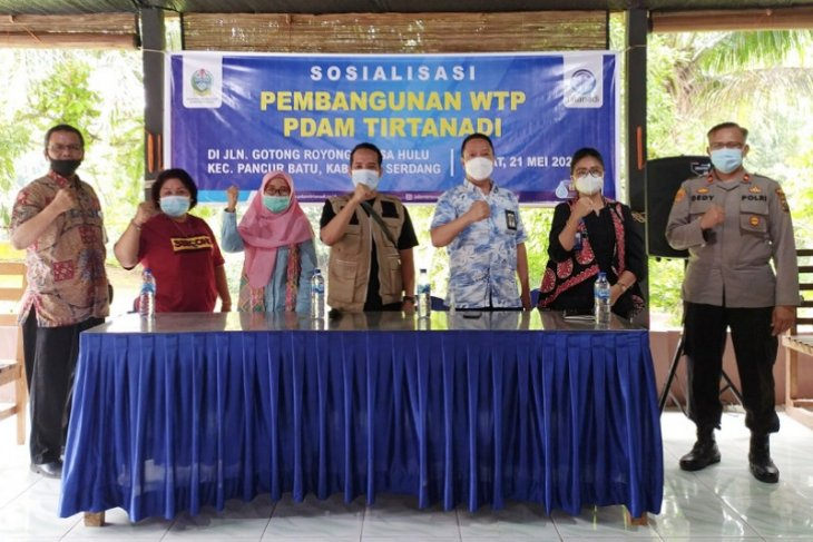 Masyarakat Pancur Batu dukungan pembangunan IPAM PDAM Tirtanadi