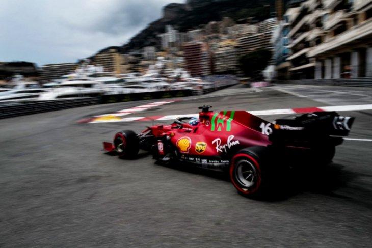 Formula 1: Ferrari tak temui kerusakan girboks, Leclrerc pertahankan pole Monaco