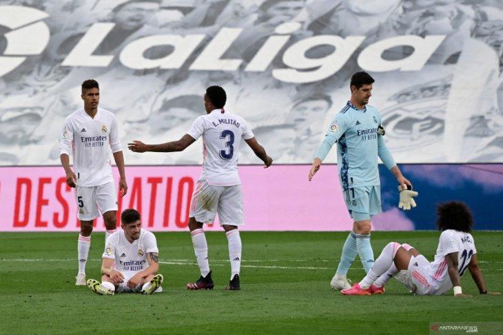 Real Madrid akhiri musim  sebagai runner-up La Liga