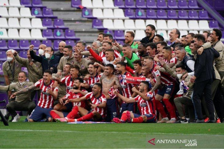 Atletico Madrid juarai Liga Spanyol
