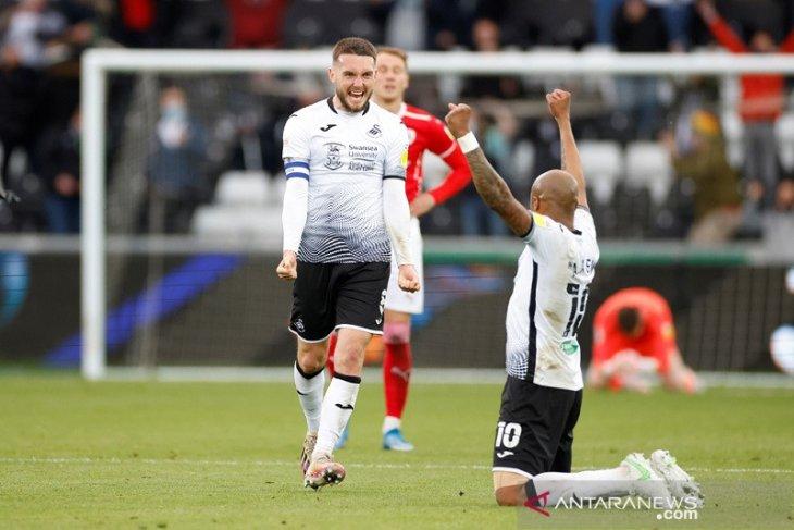 Swansea tantang Brentford  di final playoff promosi menuju Liga Premier